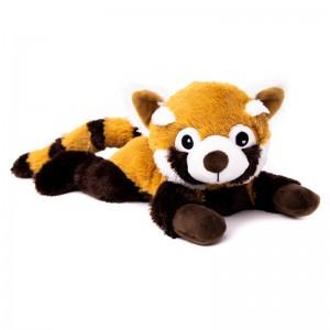 Panda roux, peluche bouillotte déhoussable, micro-ondes