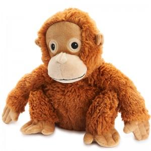 Bouillotte peluche Orang Outan pour micro-ondes