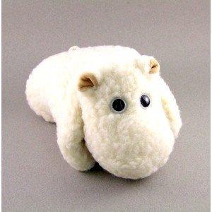 Hippopotame oreiller bouillotte - 24x27cm