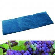 Bouillotte coussin microfibre 55x20cm en pépins de raisins