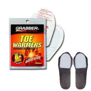 Chauffe orteils jetable 6 heures de chaleur x2, Grabber