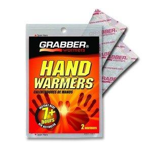 Chauffe mains à usage unique, 7 heures de chaleur x2 Grabber