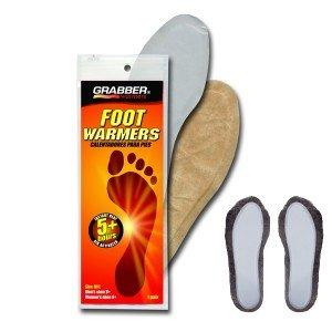Chauffe pieds, semelles chauffantes jetables 5 heures de chaleur, Grabber