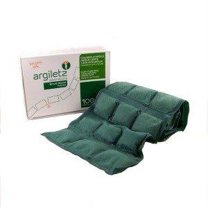 Cataplasme d'argile vert 100% naturelle prêt à l'emploi, 36 coussinnets d'Argiletz