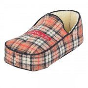 Chauffe pieds à eau, bouillotte pantoufle écossaise, Charembouille de Béa