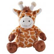 Girafe bouillotte petite peluche de grains de blé - 24 cm