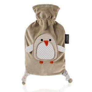 Bouillotte bébé à eau pingouin ultra-douce 0,8l