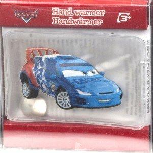 Chaufferette gel Cars de Disney, Raoul, voiture rallye bleue