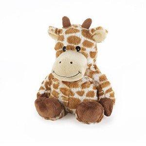 Peluche Girafe bouillotte micro-onde pour enfant, 33cm