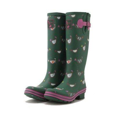 Bottes de pluie vertes Jardin & Poules
