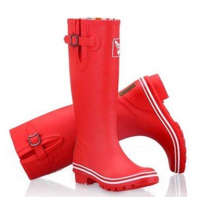 Bottes de pluie Rouge mat