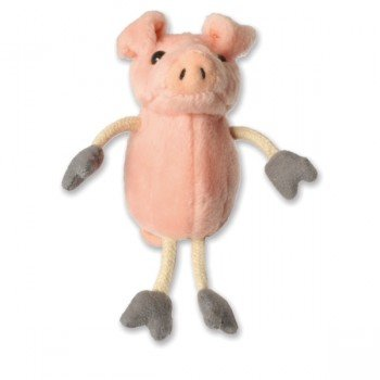 Marionnette à doigts Cochon rose 15cm