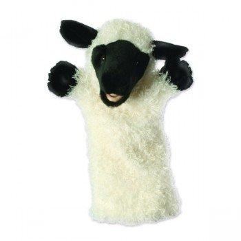Marionnette à bras Mouton blanc à longue manche