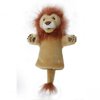 Marionnette enfant à main Lion 25cm