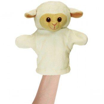 Marionnette pour bébé Agneau blanc