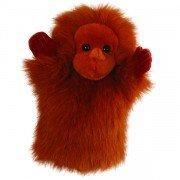 Marionnette enfant à main Singe Orang Outan, 25cm