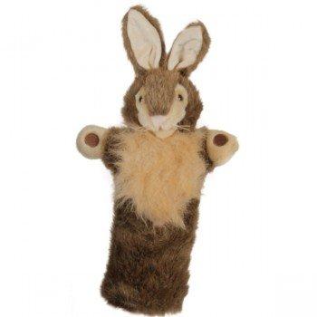 Marionnette à main Lapin sauvage à longue manche