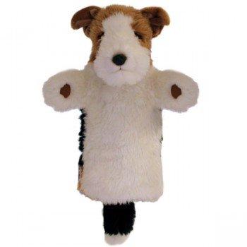 Marionnette à main Chien Fox Terrier à longue manche
