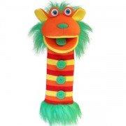 Marionnette chaussettes à bras Mango 40cm.