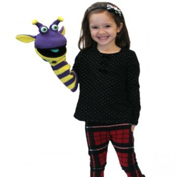 Marionnette chaussettes à bras Rupert 40cm.
