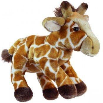 Marionnette enfant à main Girafe à 4 pattes 30cm
