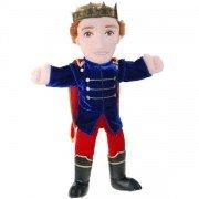Grande Marionnette personnage Roi, 45cm