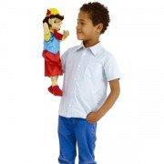 Grande Marionnette personnage garçon, 45cm