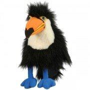 Petite Marionnette Toucan avec bruiteur et bouche articulée, 30 cm