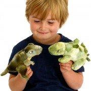 Marionnette à doigt Dinosaure T-Rex, 15cm