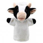 Marionnette à main enfant Vache 25cm