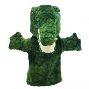 Marionnette à main enfant Crocodile 22cm