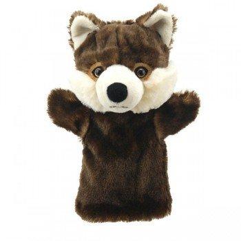 Marionnette à main enfant Loup 22cm