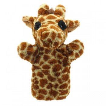 Marionnette à main enfant Girafe 22cm