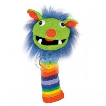Marionnette chaussettes à bras Rainbow 40cm.