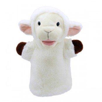 Marionnette à main enfant Mouton 22cm