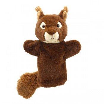 Marionnette à main enfant Ecureuil 22cm