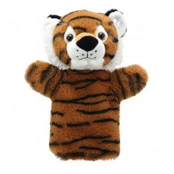 Marionnette à main enfant Tigre 22cm