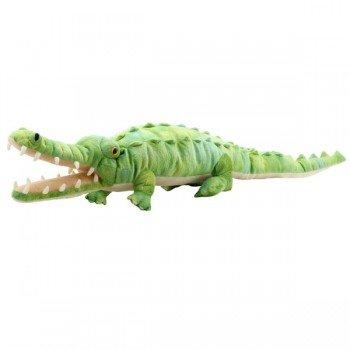 Marionnette Géante Crocodile avec bouche articulée, 90cm
