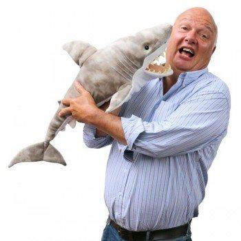 Marionnette Géante Requin avec bouche articulée 85cm