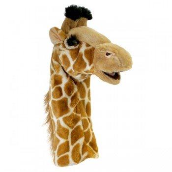 Marionnette girafe à longue manche adulte et enfant