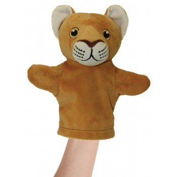 Doudou Marionnette Lion pour Bébé