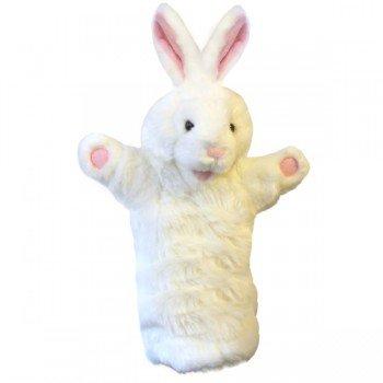 Marionnette enfant Lapin blanc à longue manche