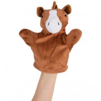 Marionnette Cheval à main pour bébé et enfants