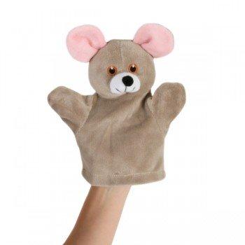 Marionnette à main pour Bébé Souris grise