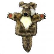 Marionnette enfant à main Loup, 25cm