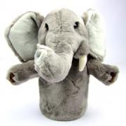Marionnette enfant à main éléphant  25cm