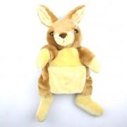 Marionnette enfant à main Kangourou  30cm