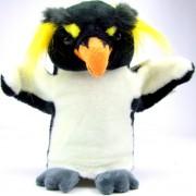 Marionnette enfant à main Pingouin Gorfou Sauteur