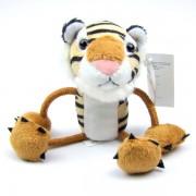Marionnettes à doigts Tigre 14cm