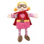Grande marrionnette personnage Super Girl 45cm